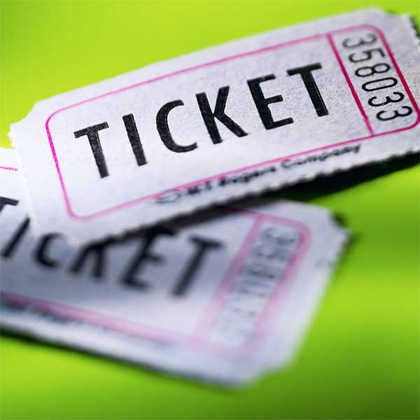 BAC Concert Tickets