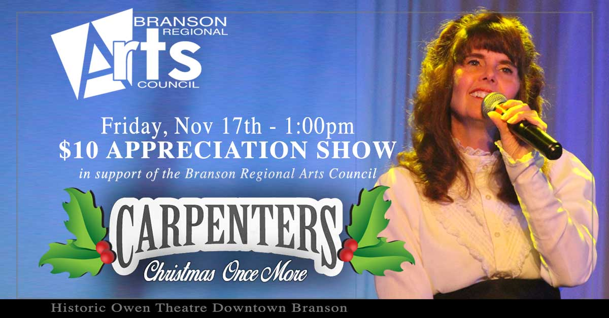 Neil Diamond and Karen Carpenter Appreciation Shows To Benefit Arts ...